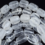 14mm rock quartz nugget beads 15.5