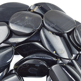 25x46mm black onyx marquise beads 14