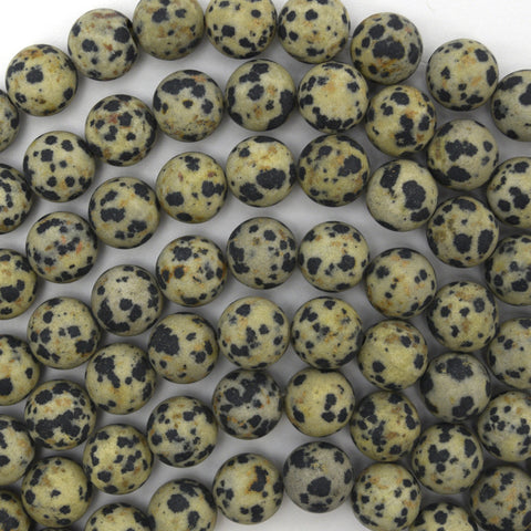 "10mm faceted grey leopard skin jasper round beads 15"" strand"