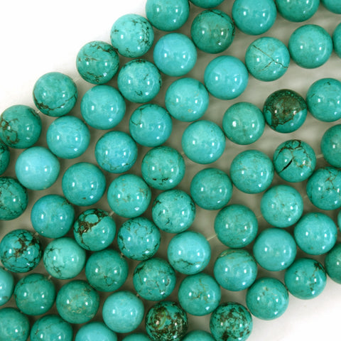 Details about  /1stand 16mm Pretty Blue Turquoise Round Loose Bead 15.5/'/' LTZ09