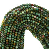6mm green dragon blood jasper round beads 16