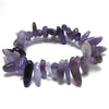 10mm - 20mm amethyst stick stretch bracelet 8