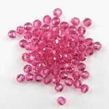 12 4mm Swarovski crystal round 5000 Rose