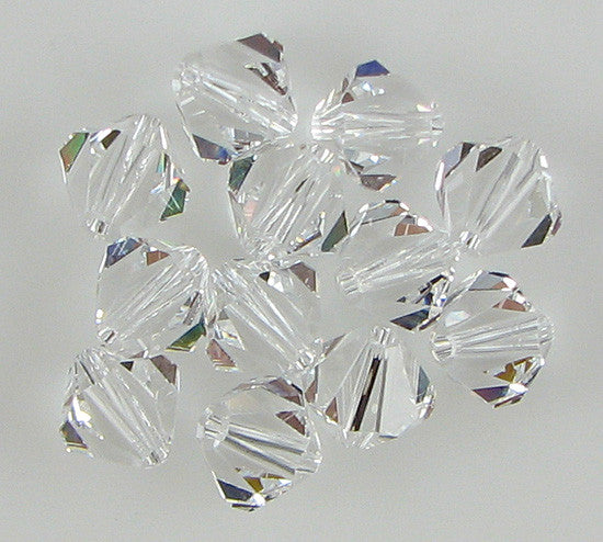 12 8mm Swarovski crystal bicone 5301 Crystal beads