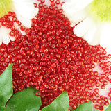 Miyuki Rocaille seed beads 11/0 S/L ruby 10g