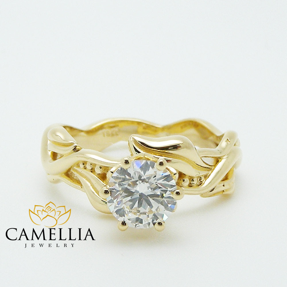 round rings multi in daria cut y bezel set yellow stone engagement ring diamond p gold white halo