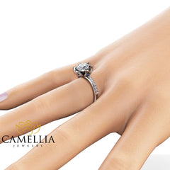 Special Reserved - GIA Natural Diamond Engagement Ring