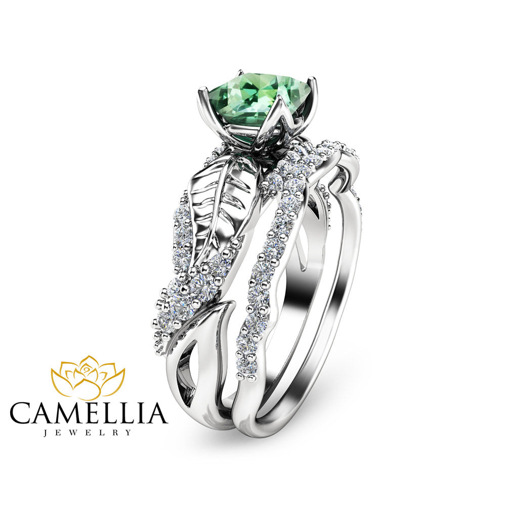 ring image engagement fashion tourmaline gallery green pretty photo rings