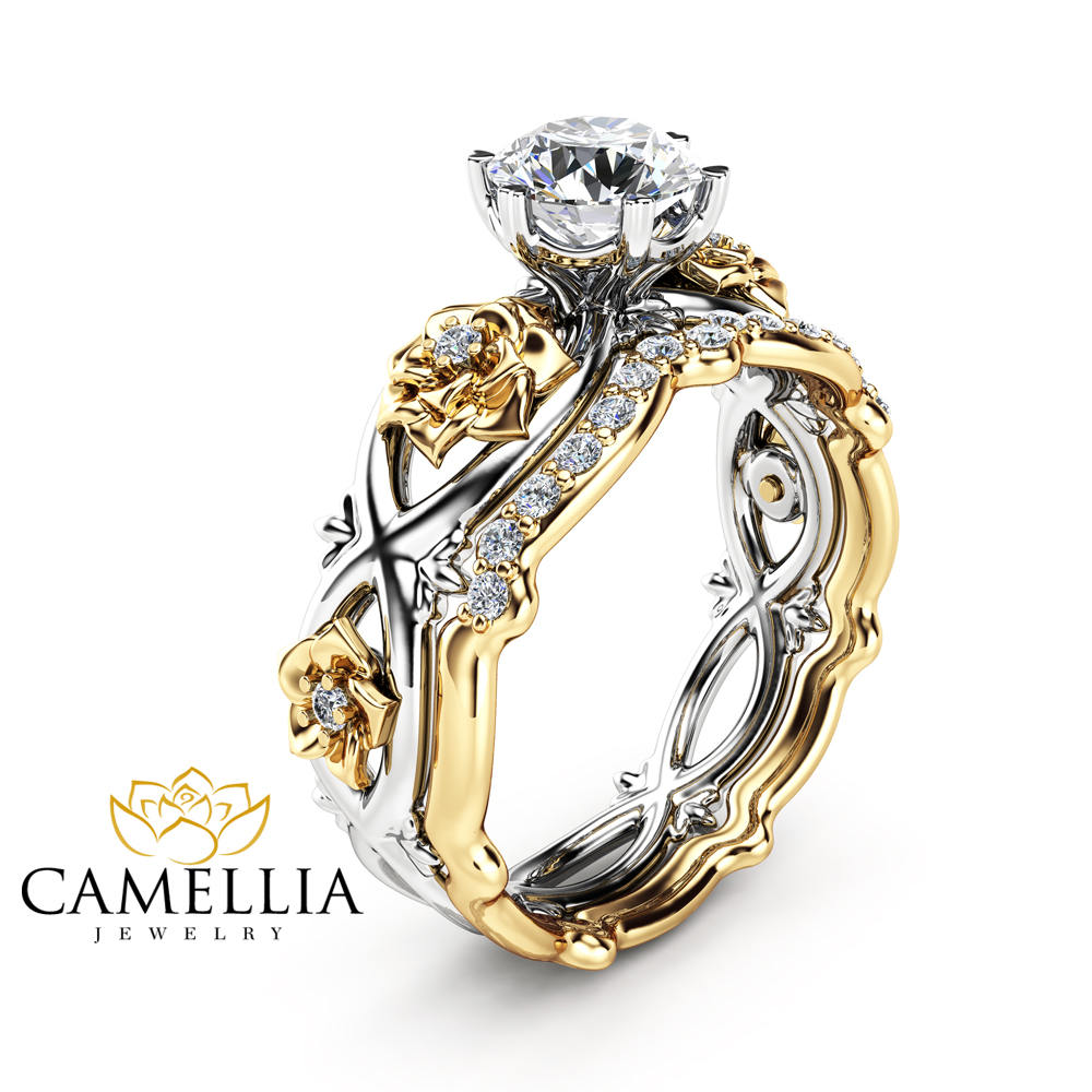 zirconia and white products rings cubic black camellia