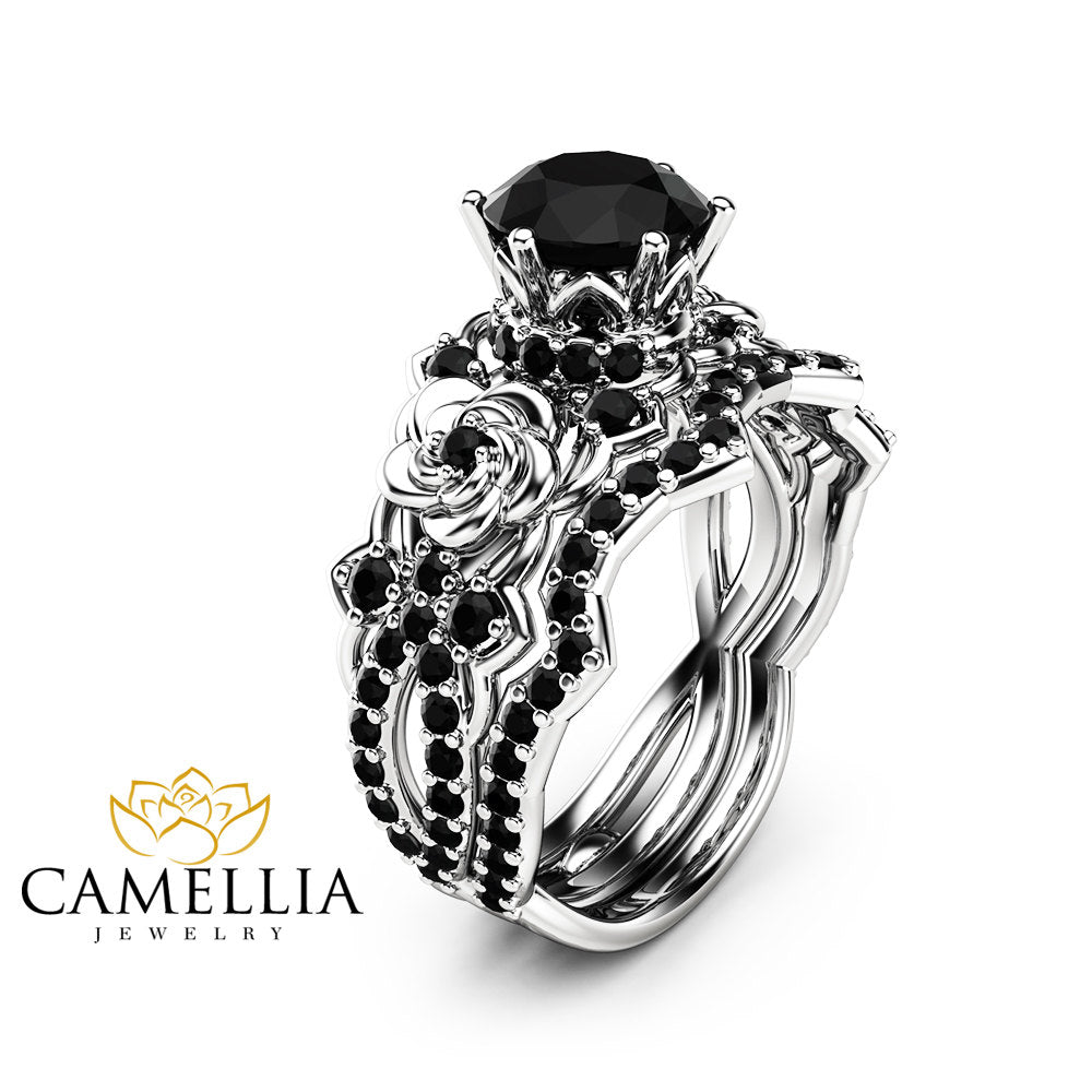 studio gold products jewellery diamond cut of halo ring rose point black copy hexagon a no engagement