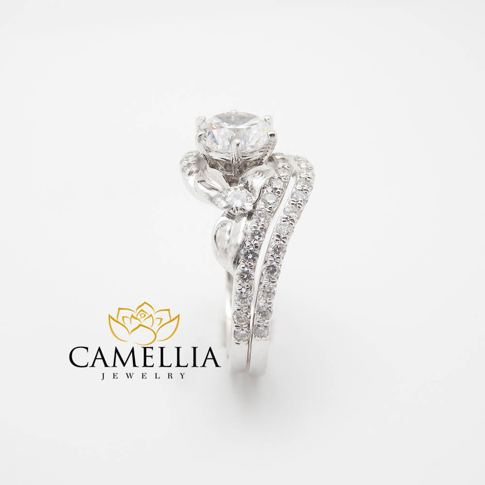 rings store camellia engagement