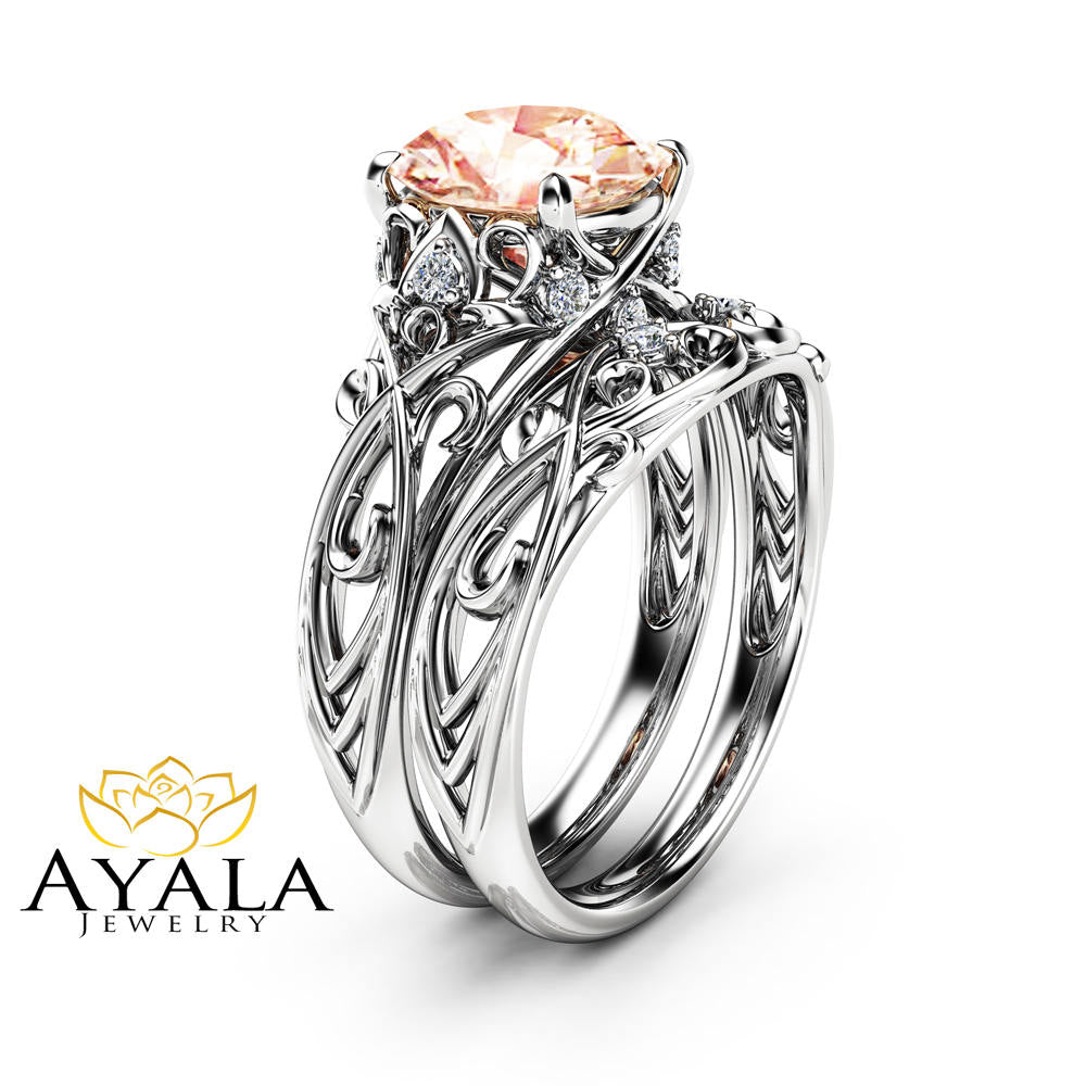 boutique white image rings tourmaline product diamond engagement arya pink gold ring