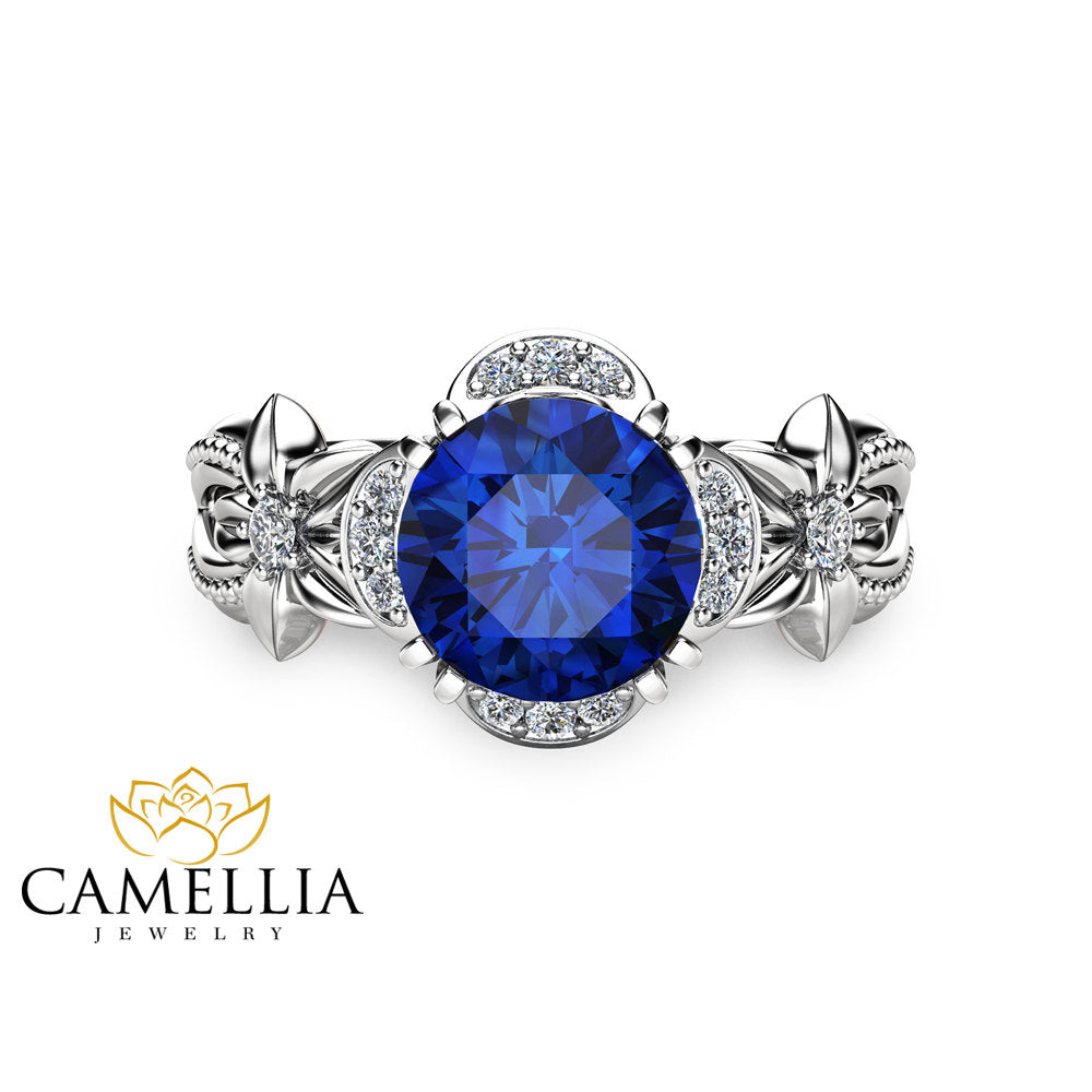 lanka products jewellers elizabeth sapphire sri royal carat blue natural from