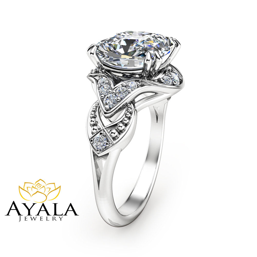 jewellery halo product cushion ring cut engagement rings main with sylvie tina diamond classic