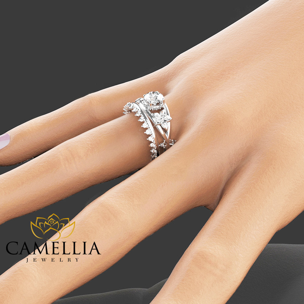 band bands platinum rings diamond s jewelers halo products french ring long set engagement