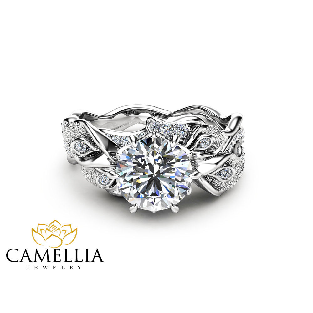band lily engagement ring and rings diamond wedding