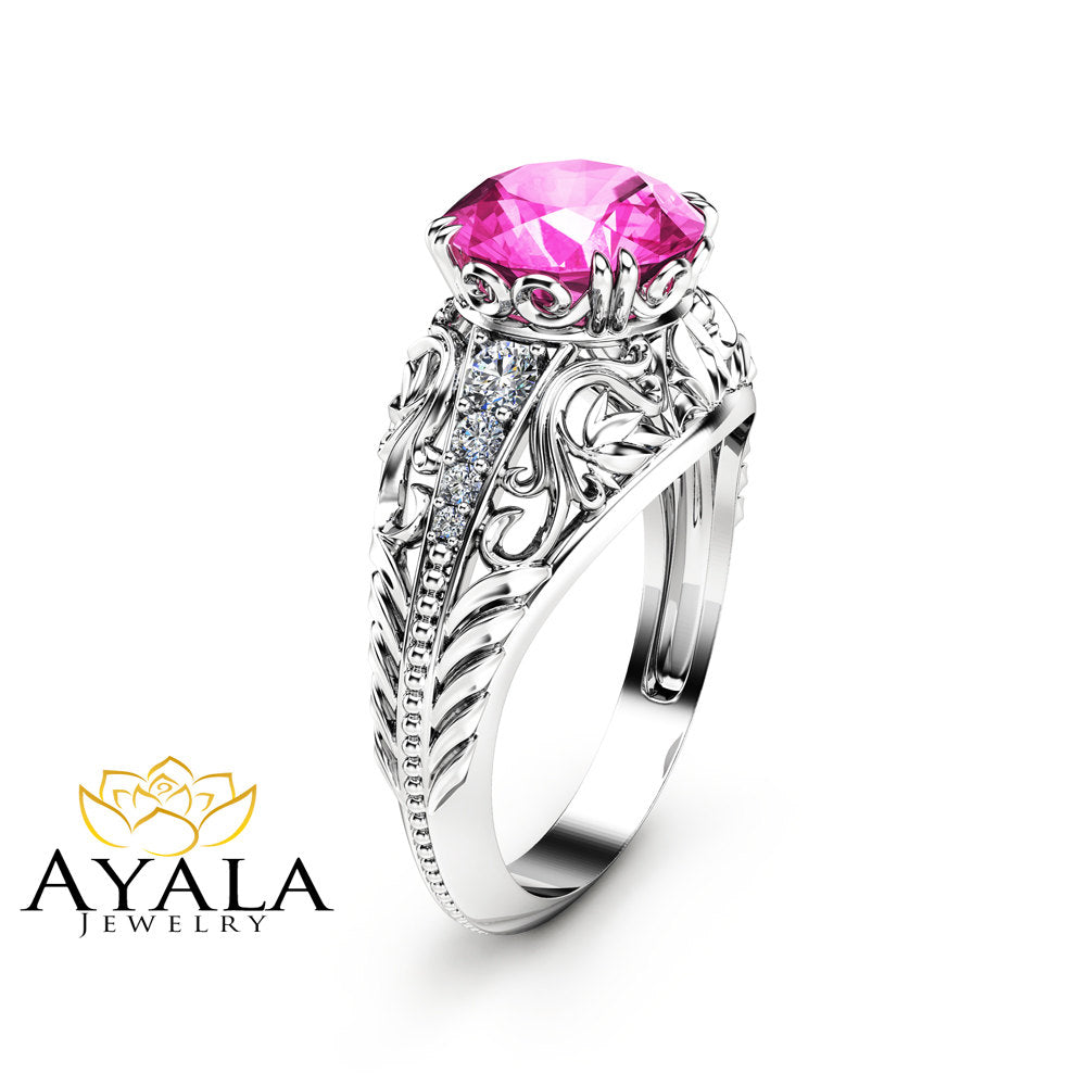 created pink dp wedding amazon ring sterling com silver solitaire finish nickel sapphire to rings sizes jewelry rhodium carats