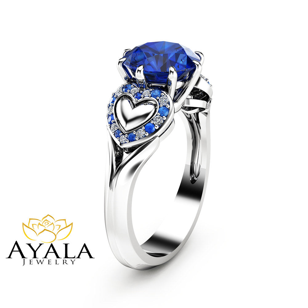 engagement jewellery rings sapphire ring custom toronto and diamond