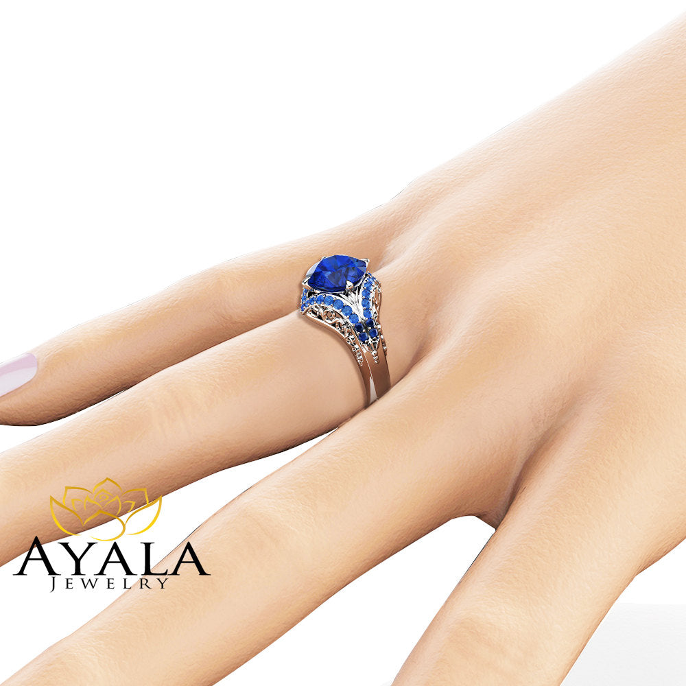 cut carat tdw today sapphire overstock jewelry auriya free and platinum watches product blue engagement shipping oval halo diamond ring