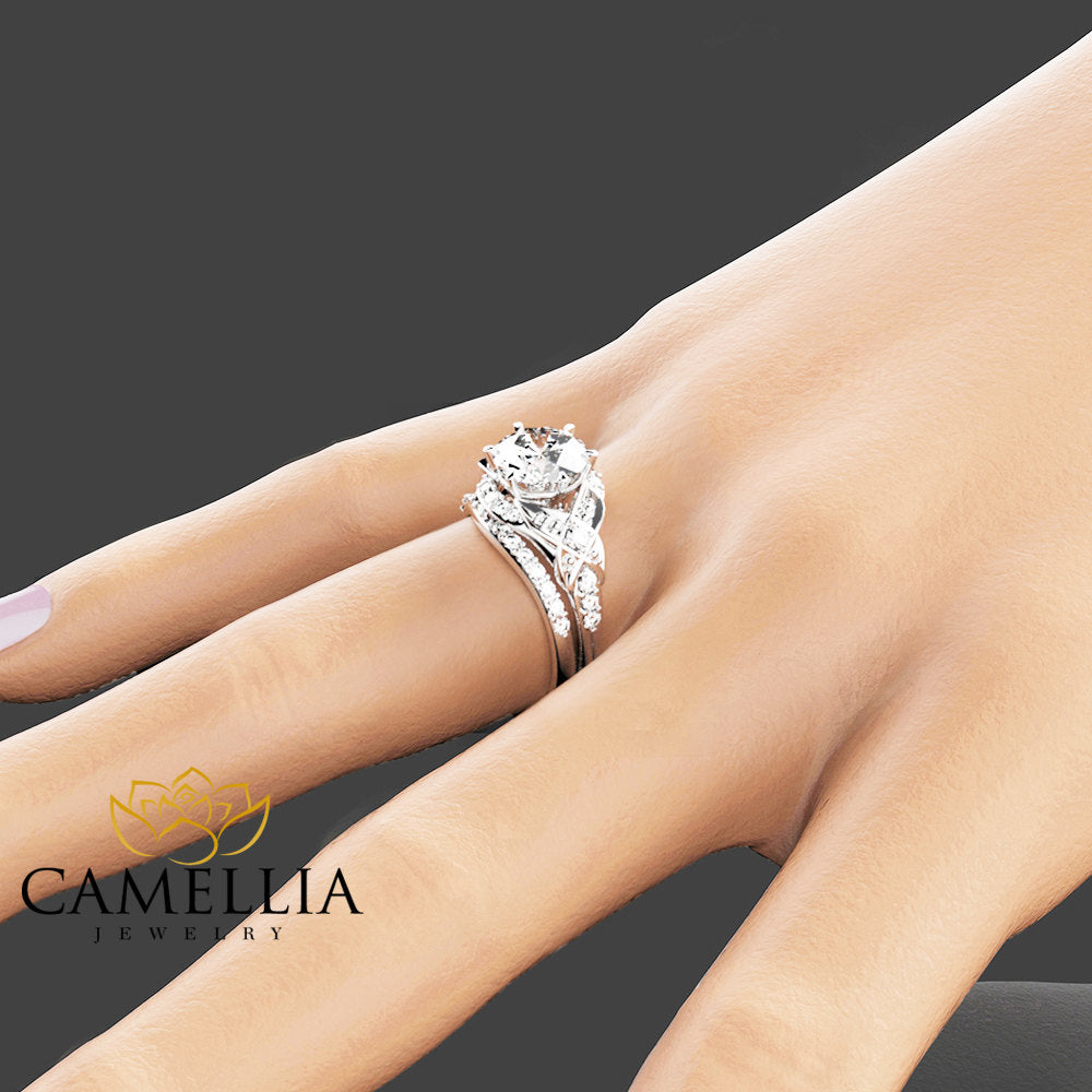 carat solitaire diamond band ring jewelry bands eternity ct