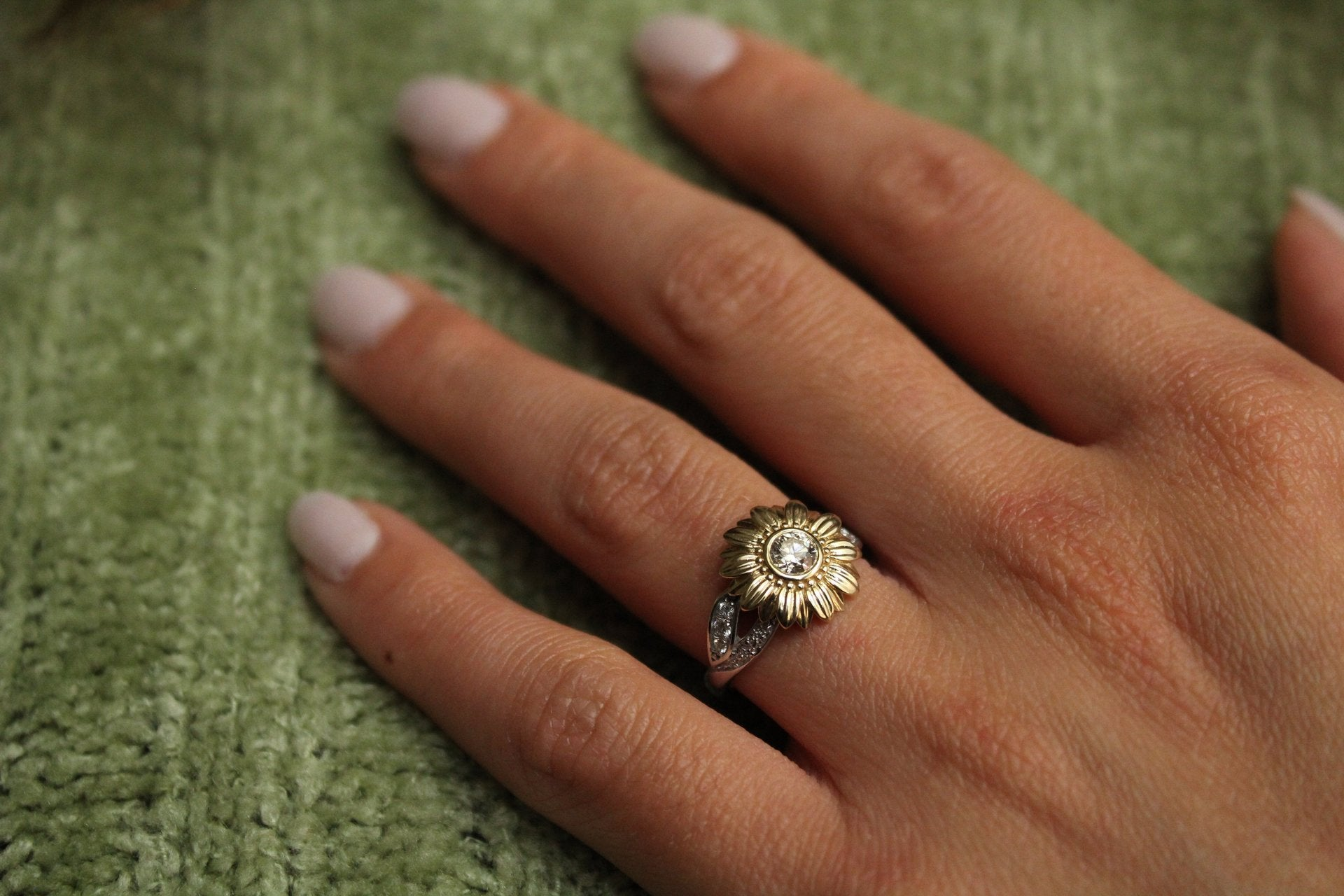 Shop For Floral Engagement Rings