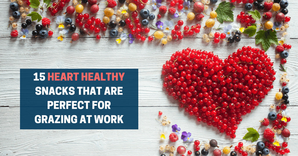 15 Heart Healthy Snacks That Are Perfect For Grazing At Work