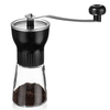 Image of KONA Coffee Glass Manual Grinder, Conical Burr