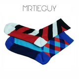 4 PACK MIXED SOCKS - MR TIE GUY - For The Daring & Dapper™