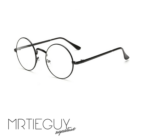 ROUND NERDLIFE GLASSES (3 COLOURS AVAILABLE) - MR TIE GUY - For The Daring & Dapper™