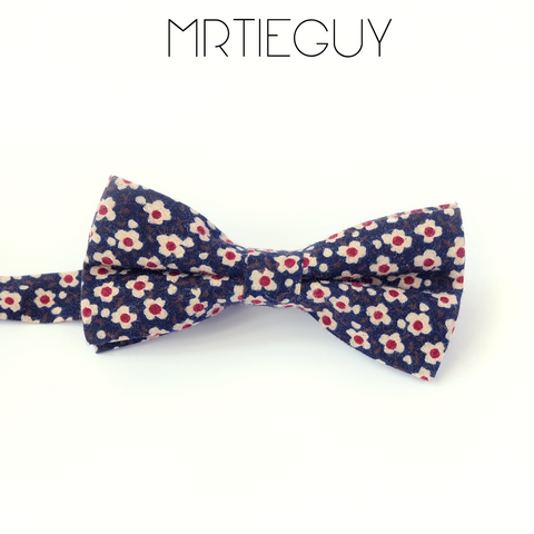 RED DOT DAISY BOW - MR TIE GUY - For The Daring & Dapper™