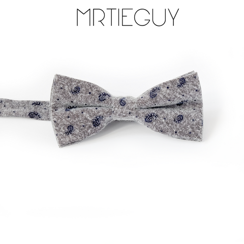 BLUE SWIRL BOW - MR TIE GUY - For The Daring & Dapper™