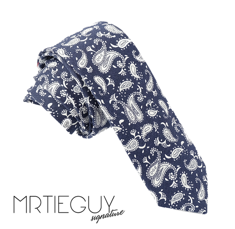 BLUE PAISLEY - MR TIE GUY - For The Daring & Dapper™