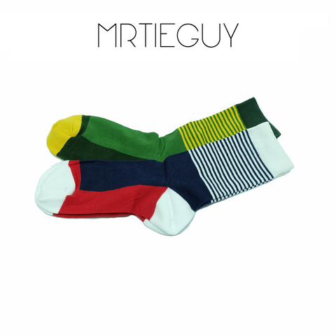 STRIPEY SOCKS - MR TIE GUY - For The Daring & Dapper™