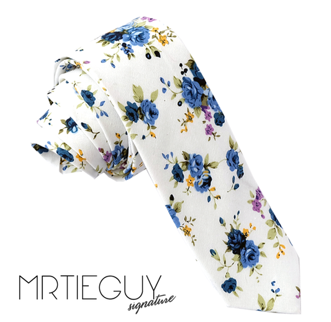 BLUEBERRY BLOSSOM - MR TIE GUY - For The Daring & Dapper™