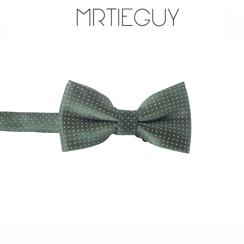 GREEN POLKA BOW - MR TIE GUY - For The Daring & Dapper™