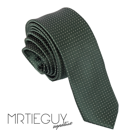 GREEN POLKA - MR TIE GUY - For The Daring & Dapper™