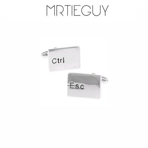 KEYBOARD CUFFLINKS - MR TIE GUY - For The Daring & Dapper™