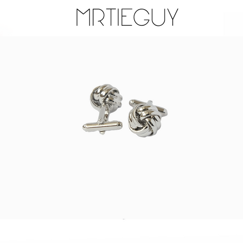 KNOT CUFFLINKS - MR TIE GUY - For The Daring & Dapper™
