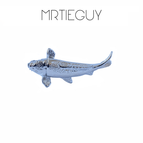 KOI FISH TIE CLIP - MR TIE GUY - For The Daring & Dapper™