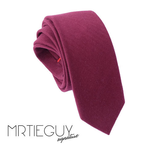 MAROON AUTUMN LEAVES - MR TIE GUY - For The Daring & Dapper™