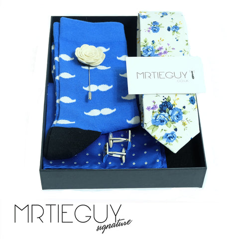 WINTER BLUES GIFT SET - MR TIE GUY - For The Daring & Dapper™