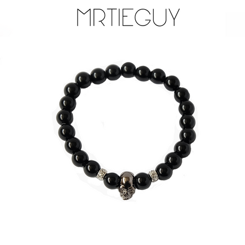 SKULL BRACELET - MR TIE GUY - For The Daring & Dapper™