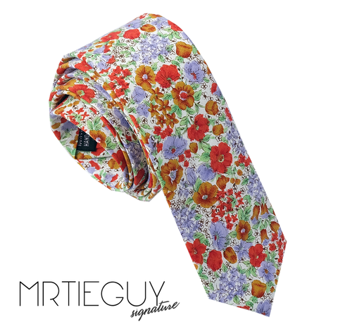 FLOWER POWER - MR TIE GUY - For The Daring & Dapper™