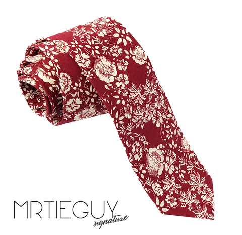 WILD RED BERRY - MR TIE GUY - For The Daring & Dapper™