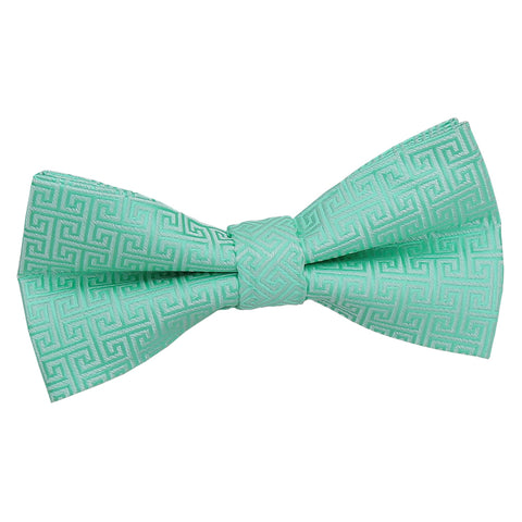 GREEK KEY PRE TIED BOW (KIDS) - MR TIE GUY - For The Daring & Dapper™