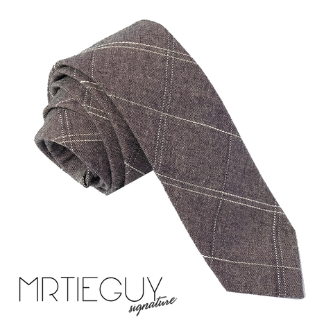 GREY CROSSHATCH - MR TIE GUY - For The Daring & Dapper™