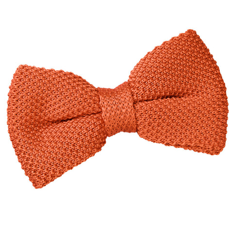 PLAIN KNITTED PRE TIED BOW