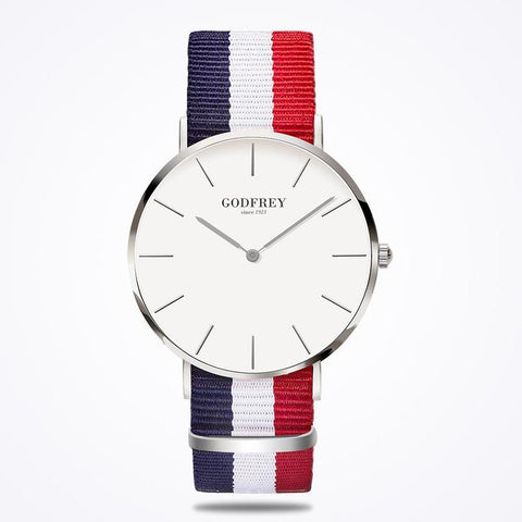 GODFREY - SILVER W/ MULTI COLOURED NYLON