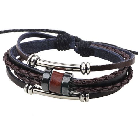 HANDMADE CHARMER BRACELET - MR TIE GUY - For The Daring & Dapper™