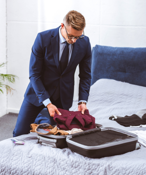 A Wrinkle-Free Suit Packing Blueprint for the Traveling Professional
